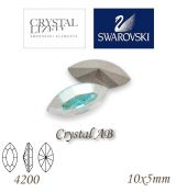 SWAROVSKI® ELEMENTS 4200 Navette - Crystal AB, 10x5mm, bal.1ks
