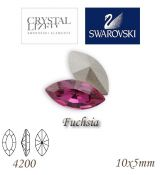 SWAROVSKI® ELEMENTS 4200 Navette - Fuchsia, 10x5mm, bal.1ks